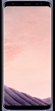 Samsung Galaxy S8 orhideja siva